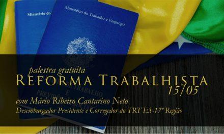 Faculdade recebe palestra com Presidente do TRT/ES