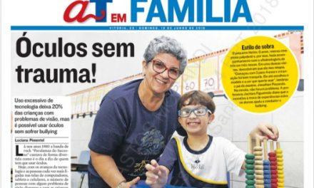 Na Mídia: Pio XII é capa no jornal A Tribuna em família