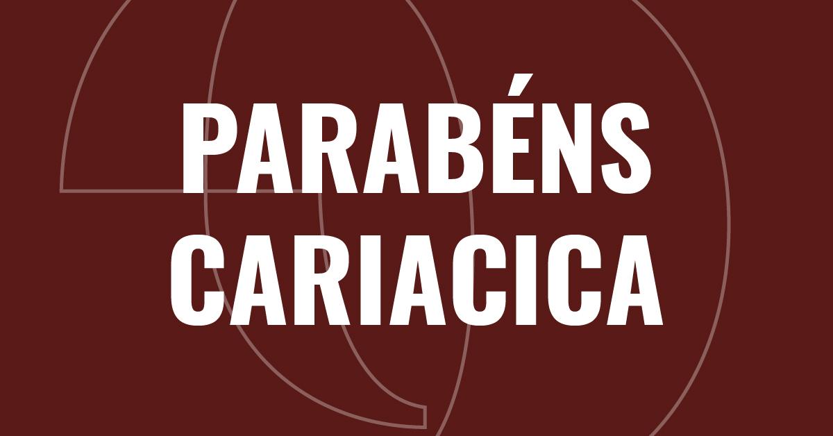 Parabéns, Cariacica, pelos seus 128 anos de história!