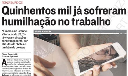 Pesquisa PIO XII publicada em A Tribuna