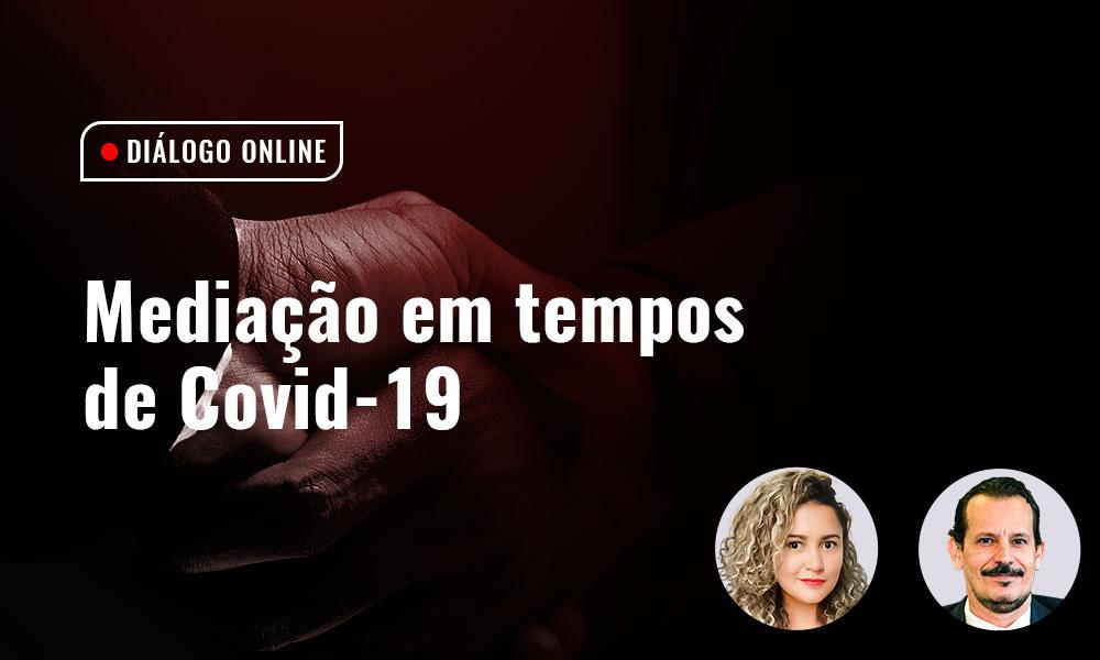 """Profª. Stéphany convida para o DIÁLOGO ONLINE """"MEDIAÇÃO EM TEMPOS DE COVID-19″"""