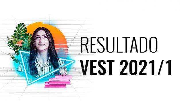 Confira o resultado do Vest 2021/1