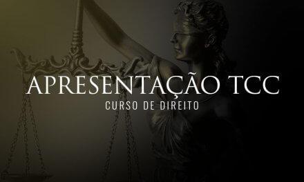 Defesas de TCC do curso de Direito da Pio XII