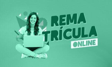 Comunicado: Rematrícula Online 2021.2