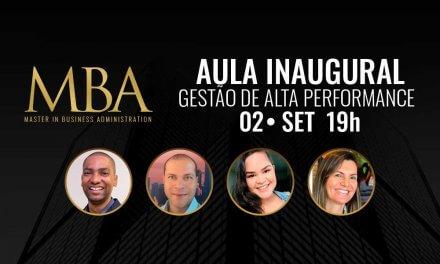 02/09: Aula Inaugural dos cursos de MBA