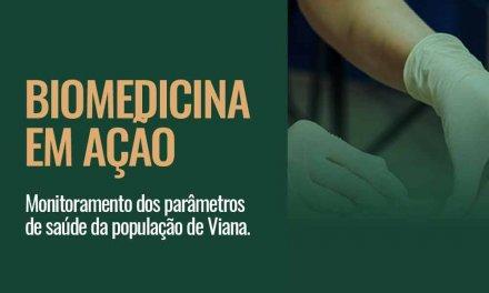 Biomedicina em Ação – Aniversário da Policlínica de Viana